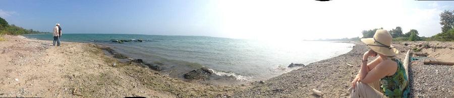 panorama Oshawa beach 900px