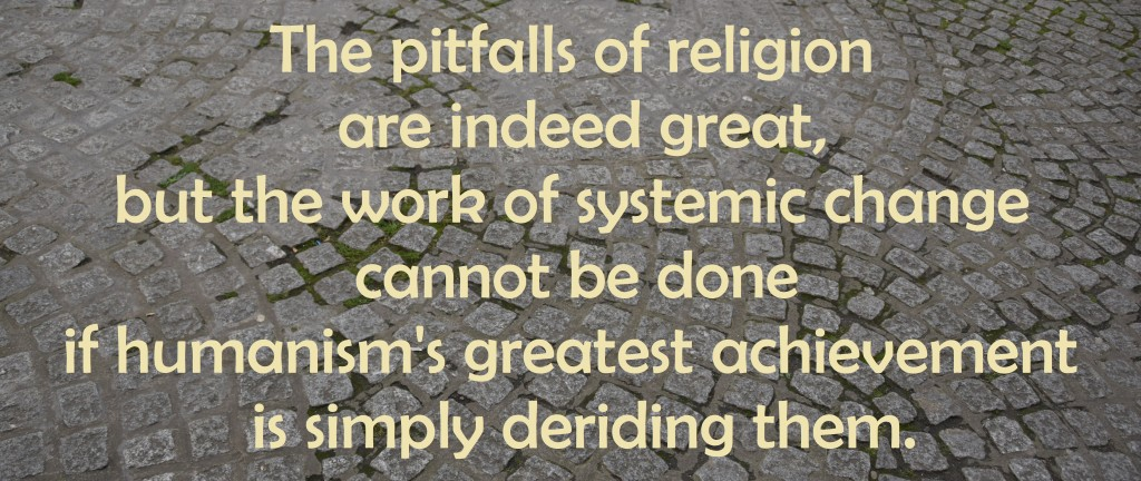 Systemic pitfalls of religion