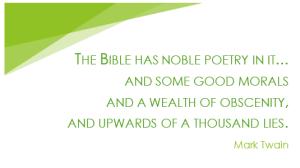 Mark Twain bible