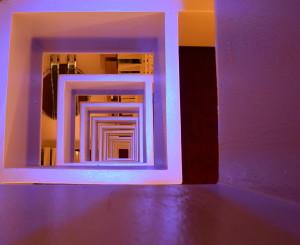 Atlanta Hotel looking down