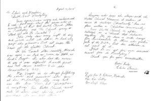 Letter Elaine